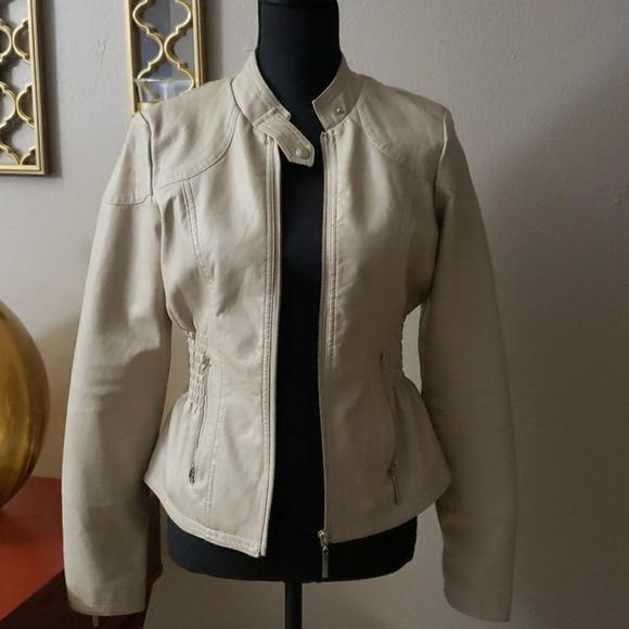 b5d4f4b6c therapy Jackets & Coats   Faux Leather Jacket   Poshmark
